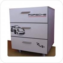 comoda pat fetite Porsche
